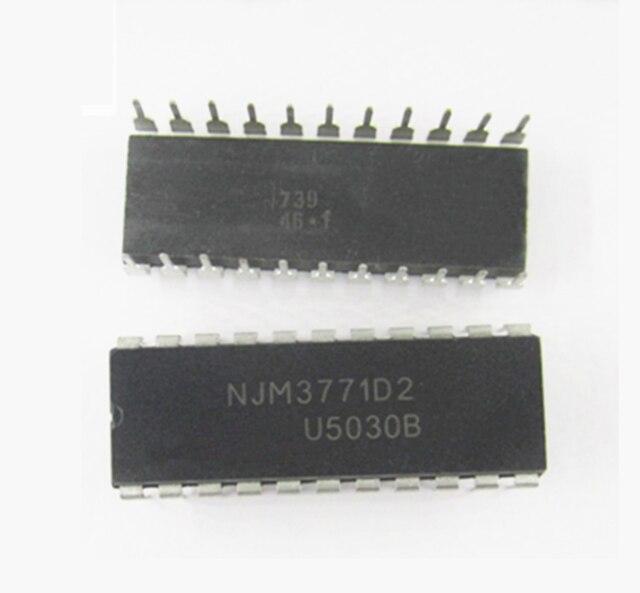 5pcs/lot NJM3771D2 NJM3771D NJM3771 DIP-22 In Stock