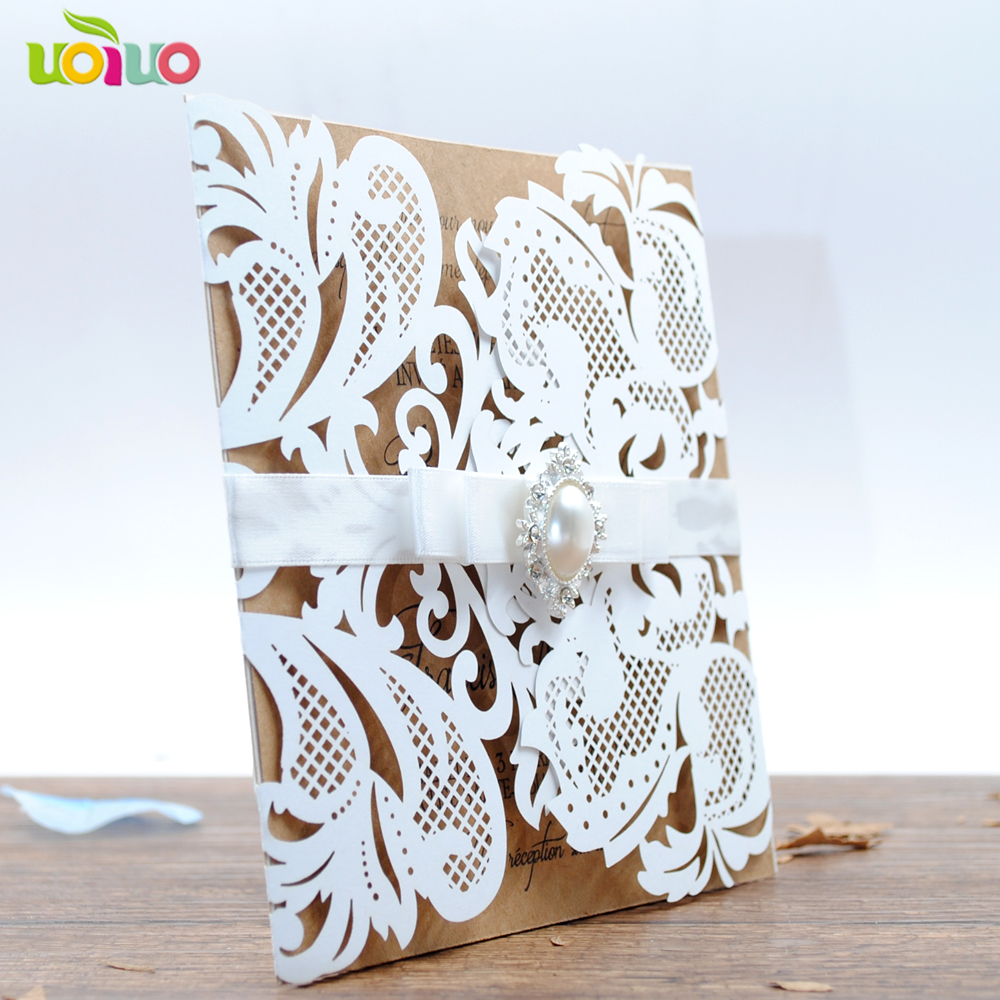 2018 new arrival good quality low price wedding invitation card-in ...
