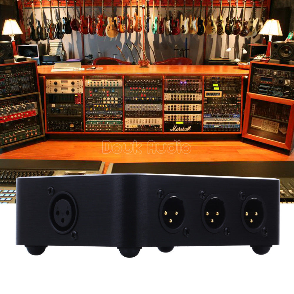 HOT SALE] Little Bear MC103 balance XLR 3 IN 1 OUT Audio