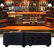 1 In 6 Out XLR Horizontale Parallel Distributeur Audio Splitter/Switcher Allocator
