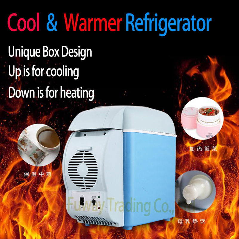 12V 6L Cooling and Heating Mini Car Fridge Nevera Portable Geladeira Portatil Auto Refrigerator for Trucks Cooler Box Freezer 60g brand bioaqua silk protein deep moisturizing face cream shrink pores skin care anti wrinkle cream face care whitening cream page 7
