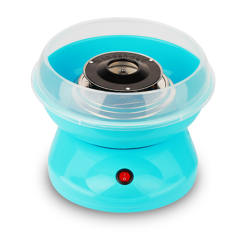 Elektrikli DIY Tatlı pamuk şeker makinesi 110V 220V MINI taşınabilir pamuk şeker ipi makinesi kız erkek hediye çocuk günü AB ABD İNGILTERE