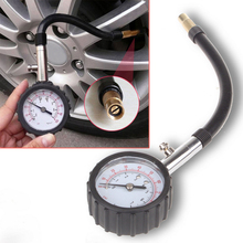Long Tube Auto Car Bike Motor Tyre Air Pressure Gauge Meter Tire Pressure Gauge Meter Vehicle Tester Monitoring System