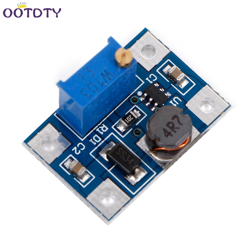 DC-DC 2-24V to 2-28V Adjustable Power Module Step Up Boost Converter 2A SX1308