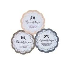 90 pçs/lote especialmente para você laço kraft etiqueta de vedação etiqueta decoração do presente adesivos padaria cookie embalagem saco papel selo etiquetas