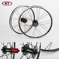 20 Folding Bike Wheels Front Rear wheels set 100/135mm V&Disc brake 451/406 7 10s Aluminum Rims For BMX Bicycle Wheelset