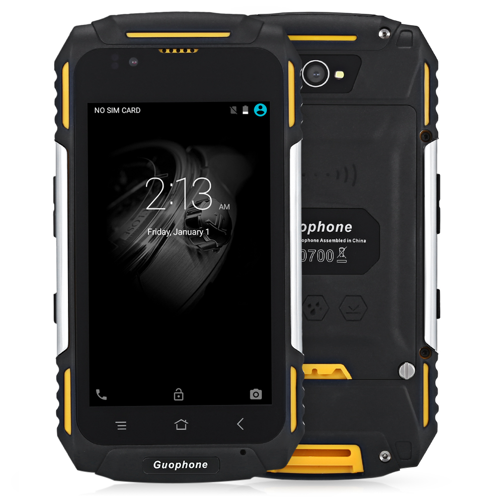 Guophone V88 4.0 inch Android 5.1 3G Smartphone IP58 Waterproof Dust and Shock Resistant MTK6580 Quad Core 1GB RAM 8GB ROM