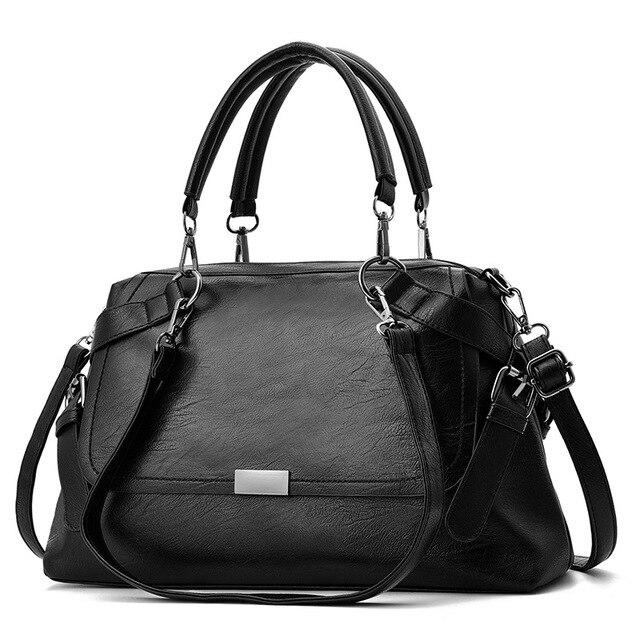 c817587da7 2018 Luxury Handbags Women Bags High Quality Pu Leather Women Famous Brand  Shoulder Bag Female Casual