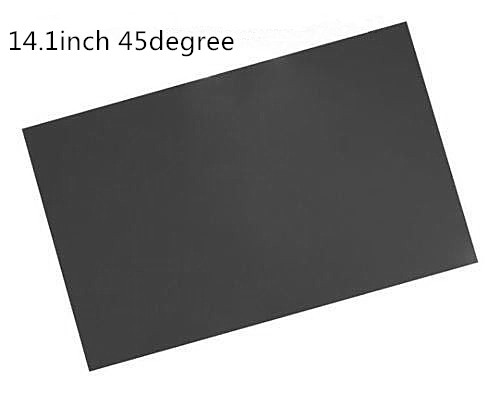 10sheets 14.1inch Polarizing Film Sheet Polarizer Film For Laptop Screen Repair 135degree