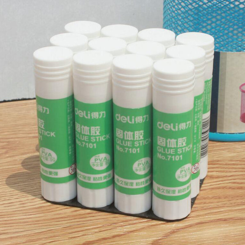 High Viscosity Solid Glue Plastic Glue Stick Adhesive For Home Art Paper Card Photo School Supplies Students Stationery 9g