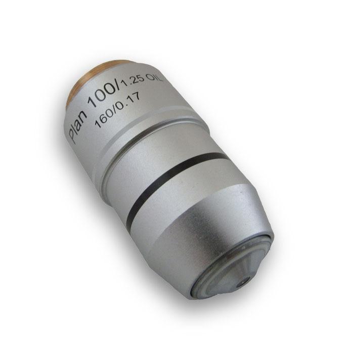 Uus 100X objektiivplaani akromaatiline objektiiviläätse mikroskoobi - Mõõtevahendid - Foto 2