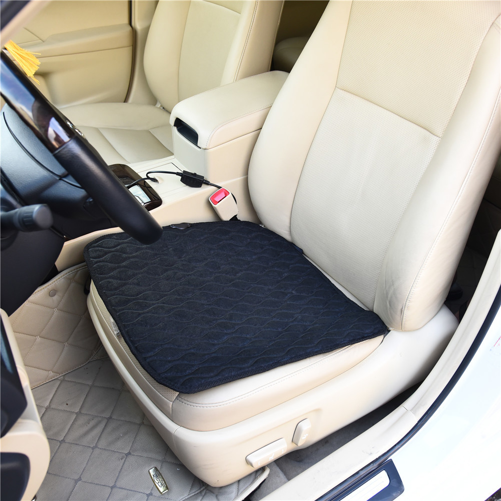 multifunctional adjustable warm keeping winter car seat cushions heating thermostat air. Black Bedroom Furniture Sets. Home Design Ideas