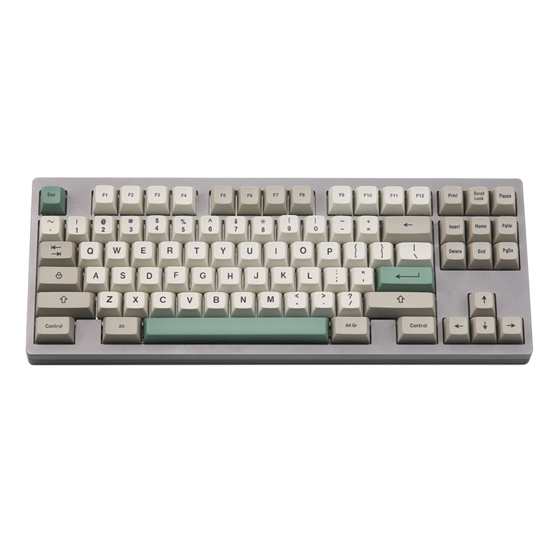 wuming 9009 sa profile Dye Sub Keycap Set thick PBT plastic keyboard gh60 dz60 kbd75 tada68