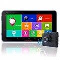 """7 """"de Navegação GPS do carro Android 4.4.2 FHD 1080 P Câmera Do Carro DVR gravador de Veículo gps WiFi MT8127 Quad-core Mapa Livre CGDC01"""