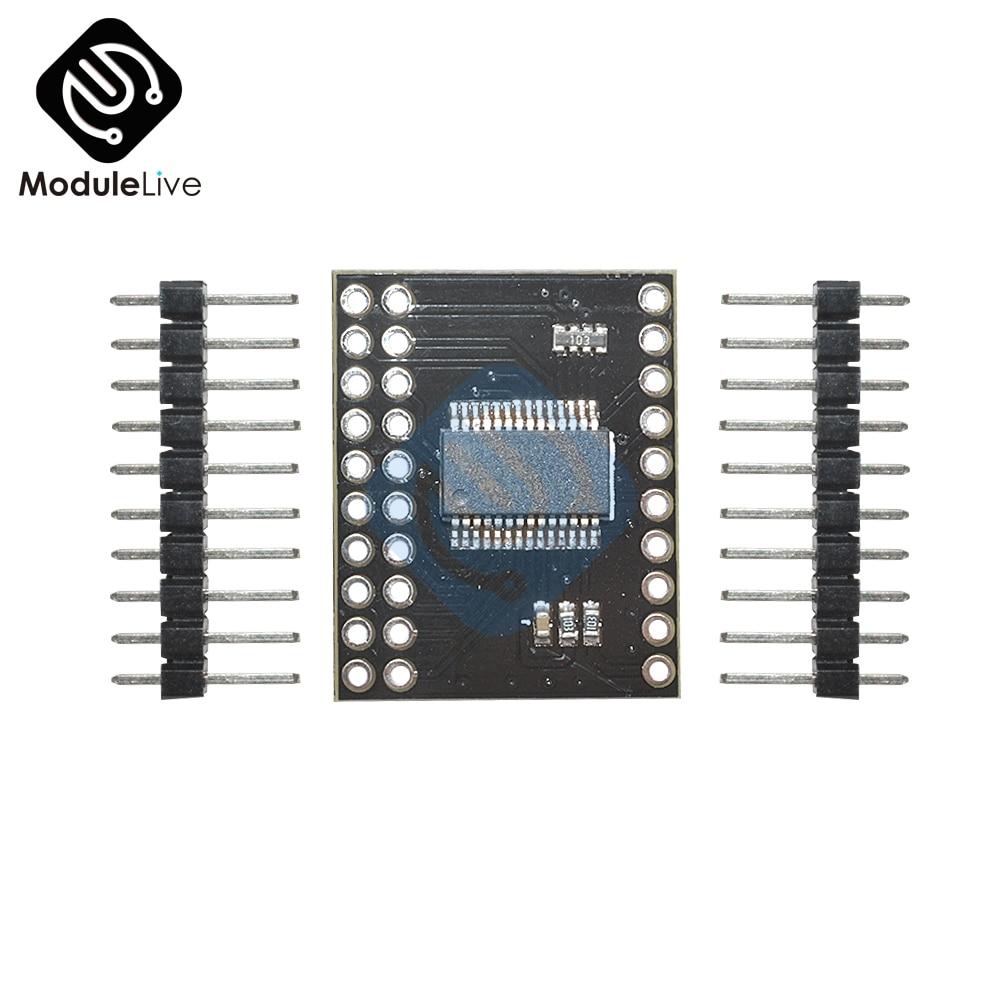 New Serial Interface Module I2C  MCP23017 I//O Expander Pins