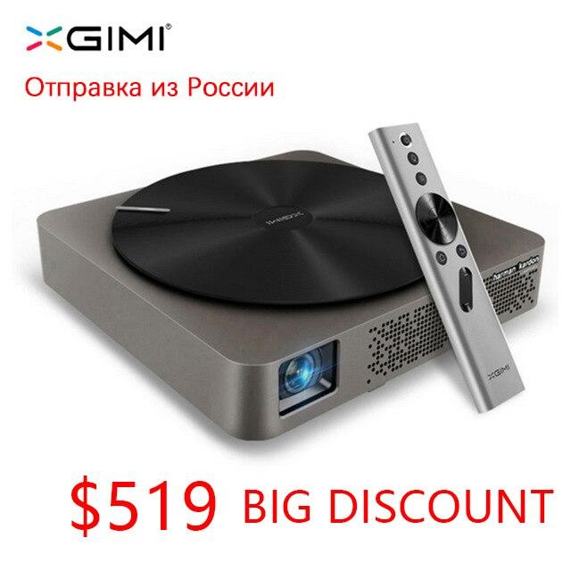 Mini portátil xgimi Z4 aurora smart home theater wifi proyectores led full hd soporte DLP 1080 p 3d Tv cine para maltimedia