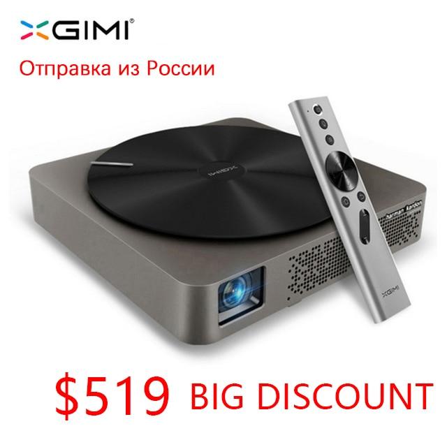 Mini portátil de xgimi Z4 aurora inteligente casa teatro wifi proyectores full hd led DLP apoyo 1080 p 3d Tv cine para maltimedia