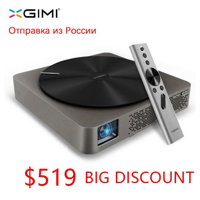 Mini portátil xgimi Z4 aurora suporte smart home theater projetores wi-fi full hd levou DLP 1080 p 3d Tv cinema para maltimedia