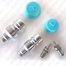 Автомобильная кондиционер трубы золотник хладагента сиденье/заполнения сопла/сварки клапана/высоких и низких фторид рот клапан