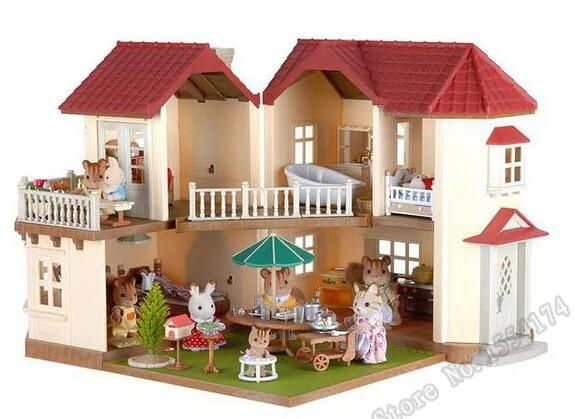 hot Sylvanian Families Haus spielzeug für jungen