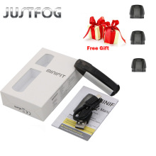 Justfog MINIFIT Starter Kit 370mAh all in one vape kit pk breeze kit with MINIFIT battery compact pod vaping device