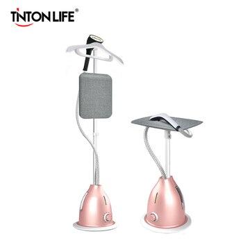 Tinton life 2000 w 의류 기선 가정용 휴대용 다림질 기계 10 기어 조정 가능한 수직 평면 스팀 다리미 의류 증기선