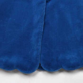 Nerazzurri Fluffy Faux Fur Coat Women Blue Black Pink furry Long plush Fake Fur Jacket Plus Size Elegant Winter Outerwear 5xl