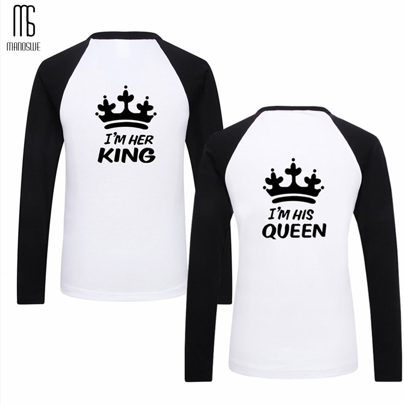 King Queen Couples T Shirt for Men Kids Princess Prince Family Matching Outfits Women