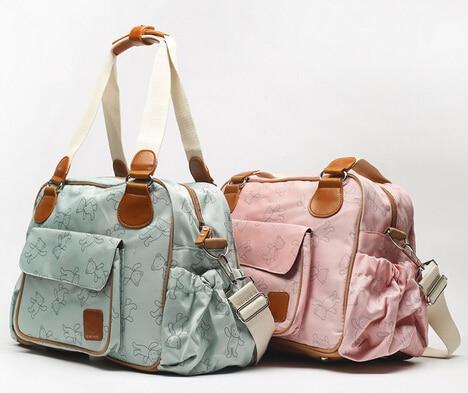 Large Capacity Multi function Diaper Bag Shoulder Mammy Bag Maternity Nursing Bag-in Diaper Bags from Mother & Kids    1