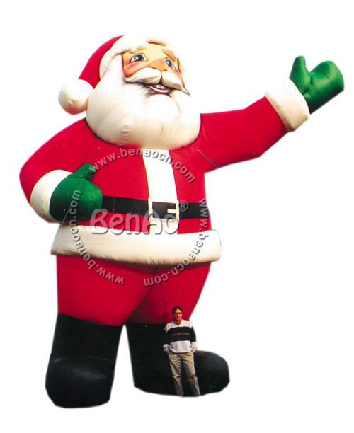 x070 7m hight hot sale inflatable christmaslowes christmas inflatables inflatable santa claus decorations - Lowes Inflatables