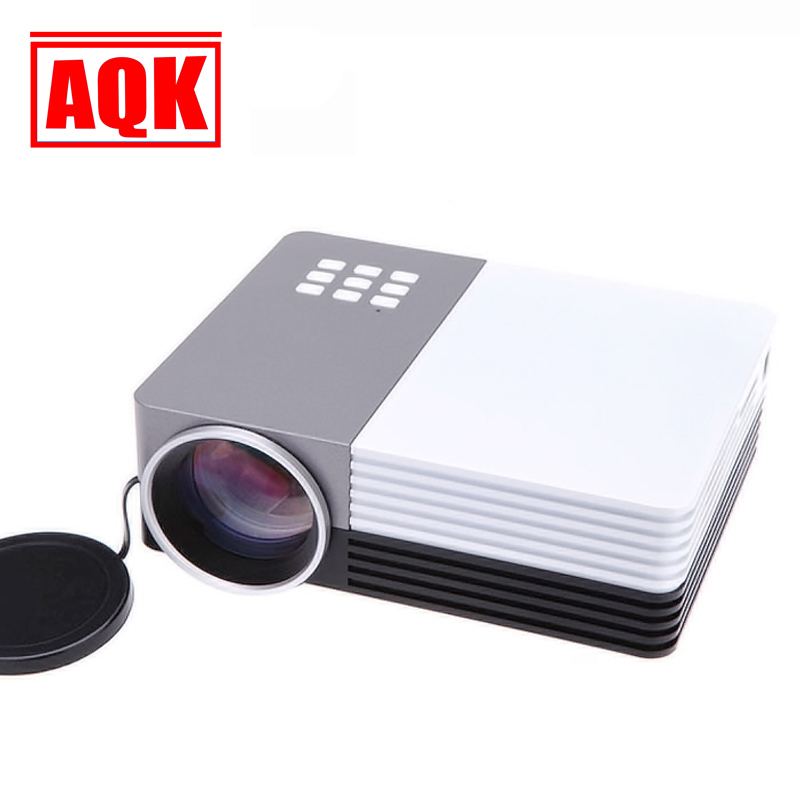 Newest 1200lumens 3D Beamer LED Electric Zoom Portable Video Pico Micro Small Mini Projector HDMI USB AV VGA
