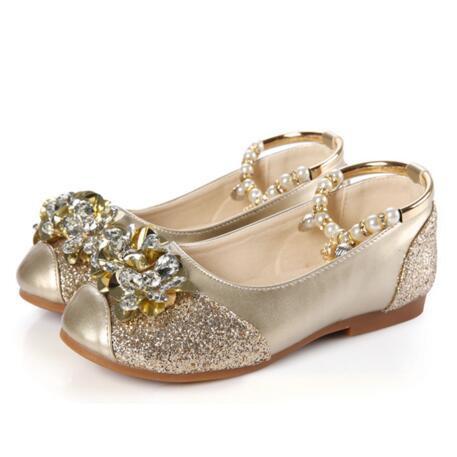 Nova primavera/outono moda cristal dança shoes flats meninas princesa glitter rhinestone crianças de couro casual shoes crianças 02
