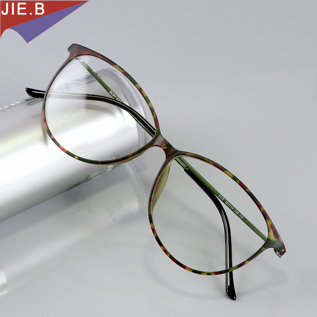 d7aca5477c2 Fashion Cat Eye Glasses Frames Brand Design Vintage Cateye Eyeglasses Frame  Women clear lens Optica eyewear gafas de sol hombre