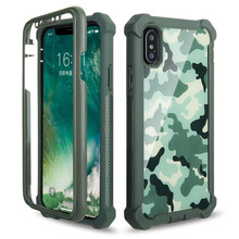 Heavy Duty Protection Doom armor PC+Soft TPU Phone Case for iPhone 11 Pro XS Max XR X 6 6S 7 8 Plus 5S 5 Shockproof Sturdy Cover цена и фото