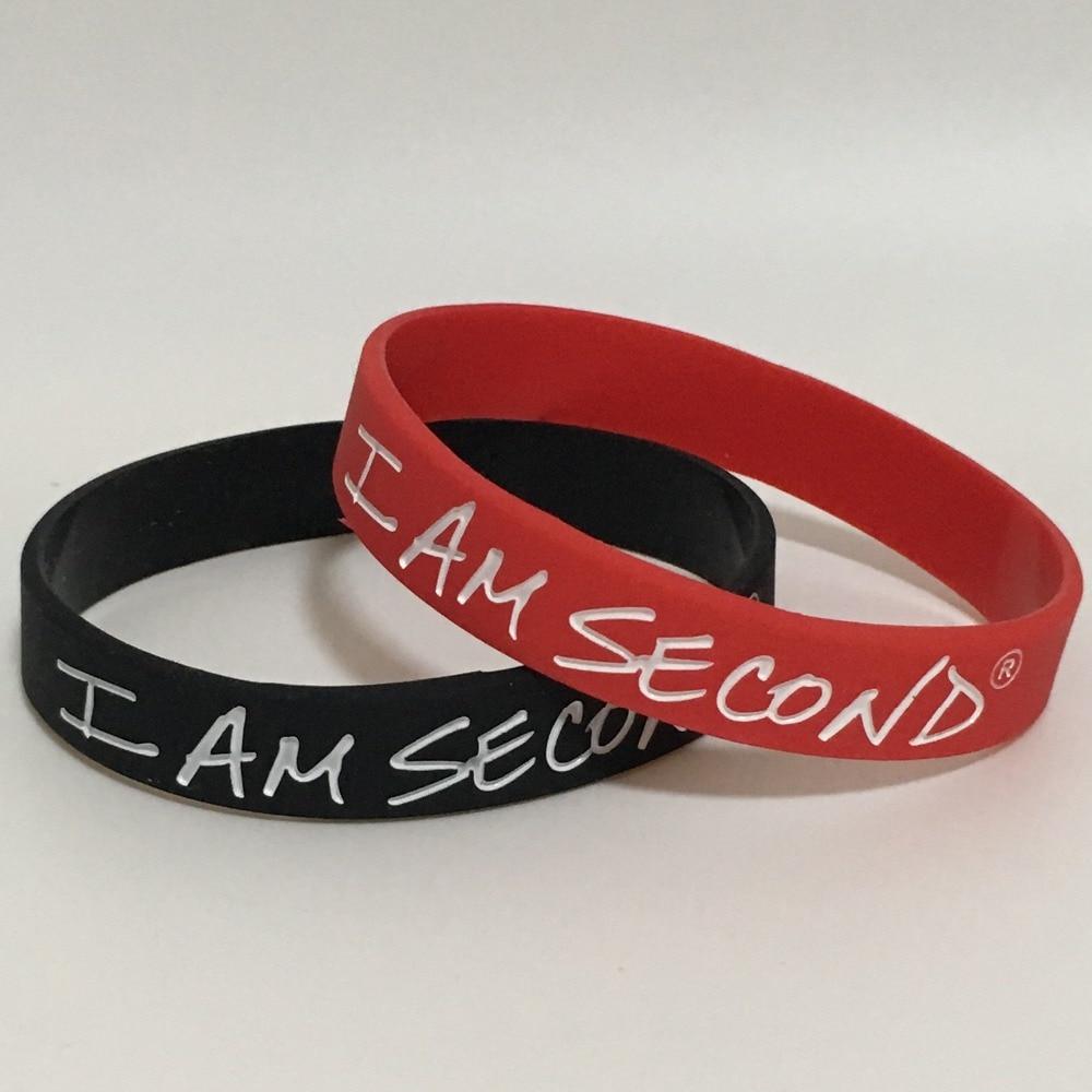 1pc I Am Second Silicone...