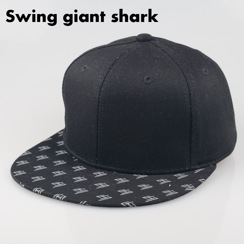 [Swing giant shark] 2017 new fashion hip hop hat men casquette de baseball snapback caps Cap for men and women hat new brand baseball cap pink wearing glasses mickey hip hop hat for men women summer cartoon mouse snapback hat casquette mq3