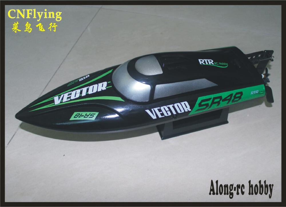 Volantex rc Boat 797-3 Vector SR48 Brushless motor 2.4GHz 40km/h High Speed Racing Boat ( PNP OR RTR 2.4GHz)