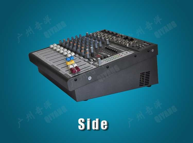 PME82A 4 MONO + 2 สเตอริโอ 8 ช่อง 16 DSP คุณภาพดี USB Professional Audio DJ เครื่องขยายเสียง