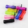 Puntas de goteo de plástico boquilla de colores transparentes para ee2 ego/vivi nova/dct/t4/510 cigarrillo electrónico clearomizer