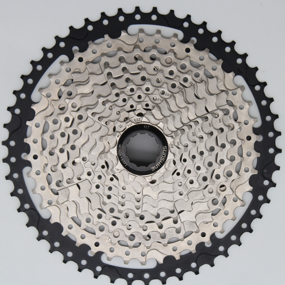 MTB Mountian Bike Bicycle Parts Freewheel Cassette Sprockets11s 11 Speed 11-50T Wide Ratio for Shimano m7000 m8000 m9000 SUNRACE