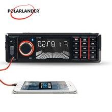 Пульт дистанционного управления 12 В Универсальный 1 DIN USB/SD/AUX Автомобильный MP3-плеер 4*50 Вт fm-радио Электроника bluetooth