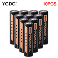 For Led Torch Headlamp 10Pcs Rechargeable Cells 18650 Batteries Wholesale 3.7V High Volume 9900mAh