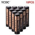 Para Led Tocha Farol 10 Pcs Pilhas Recarregáveis 18650 Baterias Por Atacado 3.7 V Alto Volume 9900 mAh