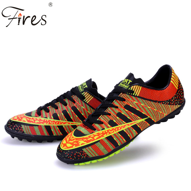 Fires big size Men /Boy /Kids Outdoor Cleats Football Soccer Shoes Soft Groud Sneakers Trainers New Design football Shoes