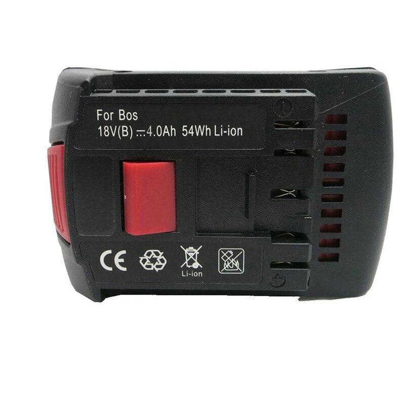 Cncool batterie Rechargeable 18 v 4.0Ah remplacement Li-ion batterie 17618 pour Bosch BAT609 BAT618 outils batterie en gros