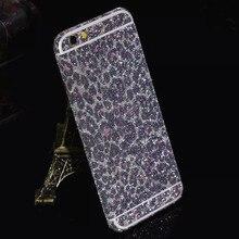 Luxury leopard glitter foil sticker body scrub color film Star flash mobile phone protective film For