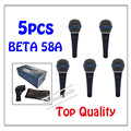 5pcs wholesale Top Quality Beta 58 58A Clear Sound Handheld Wired Karaoke Microphone