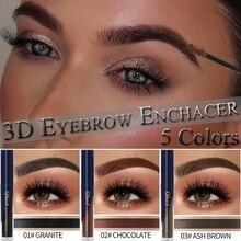 1 PCS Popfeel Cosmetics Matt Eyebrow Gel Professional Waterproof Dye Cream can Peel Off Natural Makeup Tool