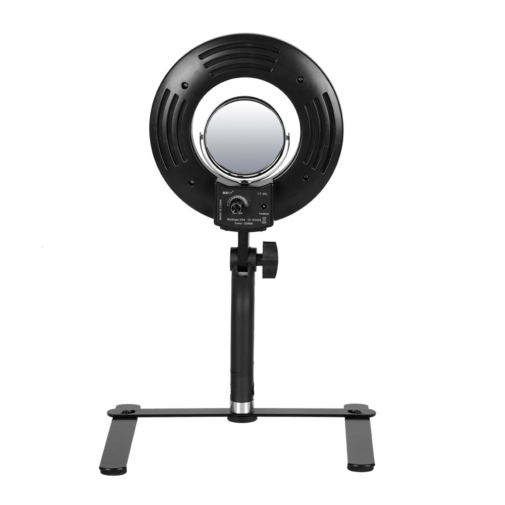 8 5500K 120 LED 24W Ring Light Professional Dimmable Photography Photo Studio Phone Video LED Ring Light Lamp For Camera