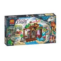 Bela Elves 41177 The Precious Crystal Mine Building Blocks Model Toys For Children 10548 Compatible Legoings Elves Brick Figure